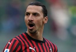 """Ibrahimovičius pasižymėjo """"Serie A"""" rekordu"""