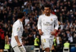 "Casemiro dublis atnešė ""Real"" ekipai pergalę mače su ""Sevilla"""