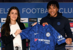 """""""Chelsea"""" susiejo ateitį su R. Jamesu"""