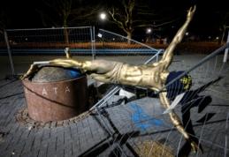 Malmėje neliko skandalingosios Z. Ibrahimovičiaus statulos