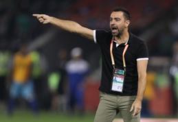 """""""Barcelona"""" pasiūlymo atsisakęs Xavi: """"Dar anksti treniruoti tokią komandą"""""""