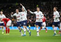 """""""Tottenham"""" ir """"Newcastle"""" žengė į kitą FA taurės etapą"""