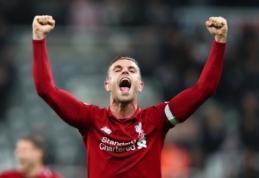 J. Hendersonas – geriausias Anglijos metų futbolininkas