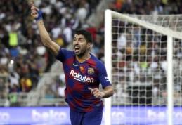 """Smūgis """"Barcelona"""" ekipai: L. Suarezas nežais keturis mėnesius"""