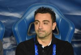"""""""Barcelona"""" vadovai pasiūlė Xavi perimtikomandos vairą"""