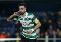 """""""Sporting"""" vadovai atvyko į Mančesterį užbaigti derybų dėl B. Fernandeso"""