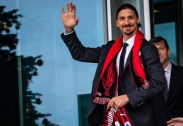 """Į """"Milan"""" sugrįžęs Z. Ibrahimovičius: """"Turiu viską įrodyti iš naujo"""""""