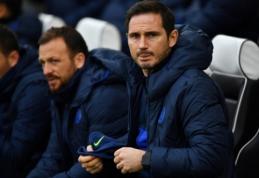 """F. Lampardas: """"Mums pasisekė, kad išvengėme pralaimėjimo"""""""