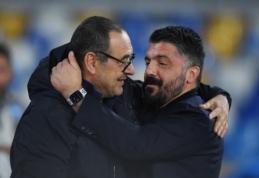 """M. Sarri: """"Džiaugiuosi dėl """"Napoli"""""""