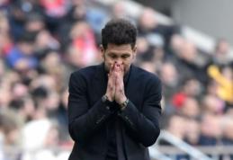 """Duobė gilėja: """"Atletico"""" neįveikė """"La Liga"""" autsaiderių"""