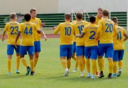 Pernai Lietuvoje buvo sutartos 24 futbolo rungtynės