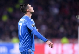 """C. Ronaldo: """"Esu įsitikinęs, kad žaisime Čempionų lygos ketvirtfinalyje"""""""
