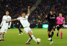 """""""Eintracht"""" žengė į Europos lygos aštuntfinalį"""