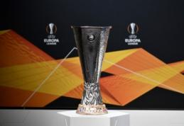 """Europos lygos aštuntfinalio burtai: """"Roma"""" kausis su """"Sevilla"""", """"Getafe"""" bandys mesti iššūkį """"Inter"""" ekipai"""