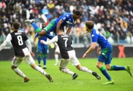 """Sirgaliams sužibo viltis gyvai pamatyti """"Juventus"""" ir """"Inter"""" rungtynes"""