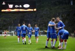 """""""Rangers"""" antrą kartą įveikė """"Bragą"""" ir žengė į Europos lygos aštuntfinalį"""