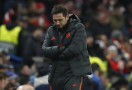 """F. Lampardas: """"Bayern"""" sugrąžino mus į realybę"""""""