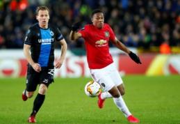 """""""Man Utd"""" Europos lygos atkrintamąsias pradėjo lygiosiomis, G. Arlauskio klubas buvo per žingsnį nuo sensacingos pergalės"""