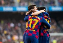 """Barcelona"" turėjo paplušėti mače su ""Getafe"""