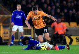 """""""Wolves"""" ir """"Leicester"""" išsiskyrė be įvarčių"""
