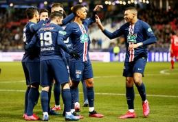 """PSG ir """"Lyon"""" pateko į Prancūzijos taurės pusfinalį"""