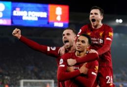 """""""Premier"""" lygos taškai: ar gali """"Liverpool"""" pasiekti rekordą?"""