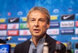 """J. Klinsmannas netikėtai pasitraukė iš """"Hertha"""" trenerio pareigų"""