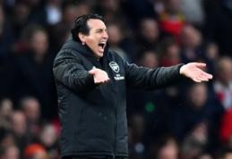 """U. Emery įgėlė """"Arsenal"""" žvaigždėms: """"Jie iš komandos prašė daugiau, nei patys davė jai"""""""