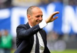 """Italijos spauda: """"Juventus"""" galvoja apie M. Allegri sugrįžimą"""