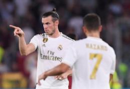 G. Bale'as įtrauktas į rungtynių paraišką, E. Hazardas – vis dar laukia savo sugrįžimo