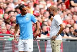 """P. Guardiola: """"Iki Sane sugrįžimo prireiks dar kelių savaičių"""""""