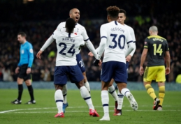 """""""Tottenham"""" palaužė """"Southampton"""" ir žengė į FA taurės aštuntfinalį"""