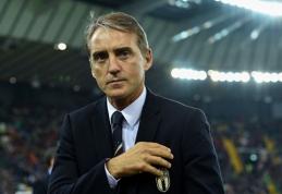 R.Mancini: gynybinio futbolo laikas jau baigėsi