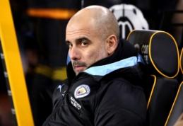 """""""Man City"""" žaidėjai pradėjo abejoti P. Guardiolos metodais"""