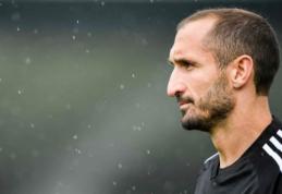 """""""Juventus"""" Čempionų lygos žaidėjų sąraše – ir G.Chiellini"""