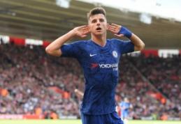 """M. Mountas nepakluso """"Chelsea"""" nurodymams: žaidė futbolą su kitu """"Premier"""" lygos atstovu"""