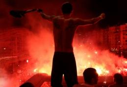 Tarsi pergalė finale: PSG žaidėjai po dvikovos su BVB surengė audringą fiestą