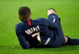 """K. Mbappe greičiausiai praleis rungtynes su """"Borussia"""""""