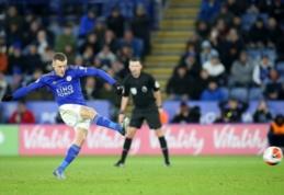 """""""Leicester"""" sutriuškino """"Aston Villa"""" ir grįžo į pergalių kelią"""