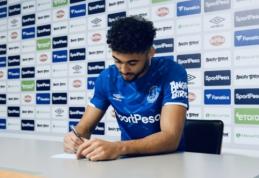 """Puikią formą demonstruojantis D. Calvertas-Lewinas pasirašė naują sutartį su """"Everton"""""""