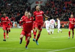 """""""Bayer"""" ir """"Eintracht"""" prasibrovė į Vokietijos taurės pusfinalį"""