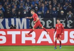 """""""Bayern"""" žengė į Vokietijos taurės pusfinalį"""