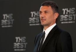 """Koronavirusas užklupo """"AC Milan"""" legendą ir jo sūnų"""