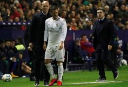 E. Hazardas kritiškai atsiliepė apie savo pirmąjį sezoną Madride