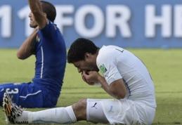 FIFA L.Suarezą gali nubausti 2 metų diskvalifikacija (VIDEO, balsavimas)