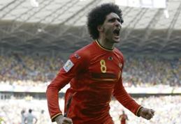 H grupė: Belgijos rinktinė išsikapstė rungtynėse prieš Alžyrą, rusų vos nepražudė Akinfejevo klaida (VIDEO)