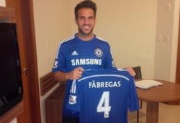 """Oficialu: C.Fabregas keliasi į """"Chelsea"""""""