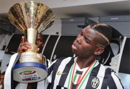 """""""Juventus"""" atmetė 50 mln. eurų pasiūlymą už P.Pogbą"""