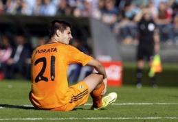 """F.Perezas neigia kalbas apie A.Moratos perėjimą į """"Juventus"""""""
