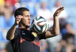 """E.Hazardas nesvarsto galimybės palikti """"Chelsea"""" ekipos"""